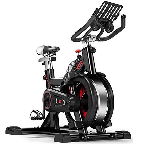 DFMD Bici da Allenamento per Interni Professionali - Casa Unisex Perdita di Peso Addominale Fitness Ruota Fredda Pedale Anti-Scivolo Protezione di Sicurezza Volano Bicicletta Sportiva Multifunzione