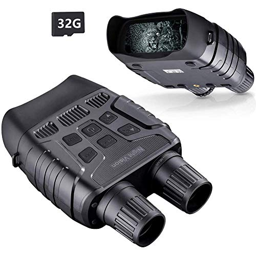 Great Price! GJNVBDZSF Infrared Night Vision Binoculars, 2.31 Inch TFT Display, 6 Buttons to Adjust ...