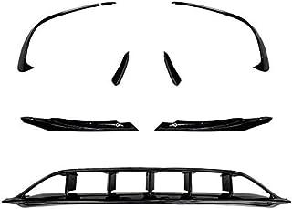 NMQQ Super Ocho Parachoques Delantero rodea el Spoiler Cuchilla de Aire Splitter Spoiler Canards Modificación de autopartes para Mercedes-Benz Clase A W176 2016-2018 A45 AMG