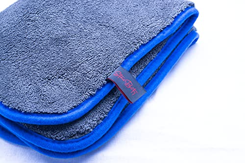 panno in microfibra 1200GSM per la cura e la pulizia auto, soffice, morbido asciugatura...