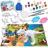 Bikilin's toy Kids Crafts and Arts Set Painting Kit, Dinosaurs...
