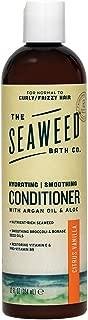 The Seaweed Bath Co. Smoothing Conditioner, Citrus Vanilla, Natural Organic Bladderwrack Seaweed, Vegan and Paraben Free, 12oz