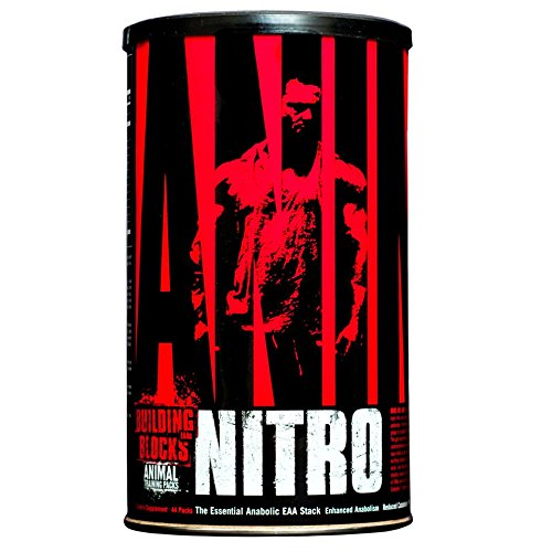 Universal Nutrition Animal Nitro Aminosäure Kombipak Muskelaufbau - 44 Packungen