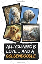 All You Need is Love and a Goldendoodle: 120 Page Lined Journal with Cute Goldendoodle Photos on the Cover (Goldendoodle Gift Series for Goldendoodle Moms and Owners Vol. 1)