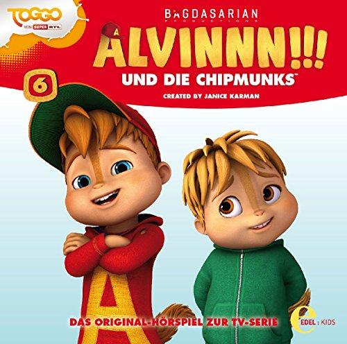 Alvinnn!!! und die Chipmunks - Das Baumhaus - Das Original-Hörspiel zur TV-Serie, Folge 6