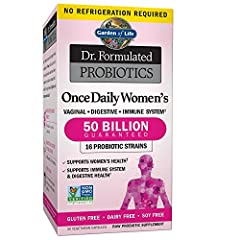 Digestion support: This once daily probiotic supplement contains Lactobaccilus acidophilus and Bifidobacteria for digestive health and constipation relief Probiotics for women: Specially formulated probiotic for women's specific health needs contains...