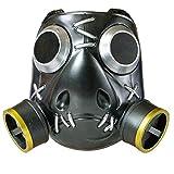 OW Roadhog Cosplay Mask - 1:1 Props Halloween Resin Helmet Mako Rutledge Mask Game Anime Accessories Black