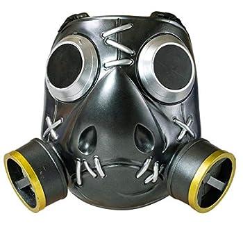 OW Roadhog Cosplay Mask - 1 1 Props Halloween Resin Helmet Mako Rutledge Mask Game Anime Accessories Black