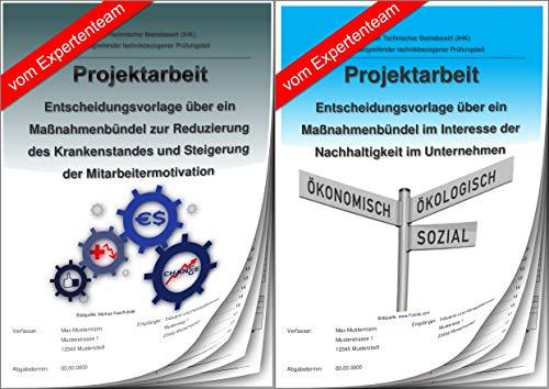 Technischer Betriebswirt Projektarbeit und Präsentation - IHK- Unternehmensführung