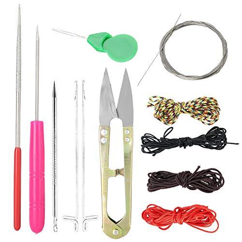 13-delige DIY-sieradengereedschapssets inclusief draaddraadschaar Craft Remover-bestand Sieraden maken Sieraden Kralenaccessoires voor ketting DIY, knutselen, repareren, schoonmaken
