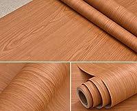 ウォールステッカーステッカー壁紙 木目の壁紙紙ウォールステッカー内閣ワードローブ装飾家具の改修防水壁のステッカーを3dは (Color : NO 3, Dimensions : 60cm x 5m)