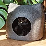 Galapara Cama De Gato Mascota Cómoda Cueva, Cuatro Estaciones De Arena Universal Gato Mascota Cueva para Gatos Gatitos Mascotas