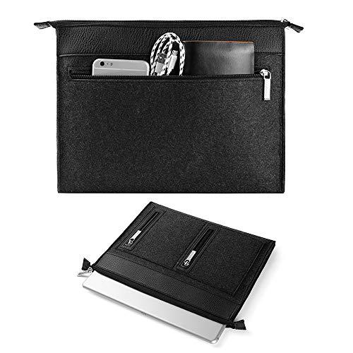 Roxie 11.6 inch Laptop MacBook Sleeve Case for iPad Pro 11 iPad Pro iPad Air 10.5 iPad 9.7 inch, Surface Go Protective Felt Sleeve Bag