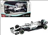 Bburago 18-38026 1/43 F1 Mercedes AMG Petronas W07 Assortiment 2016