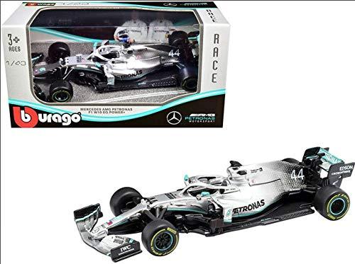Bburago 18-38026 1:43 F1 Mercedes AMG Petronas W07, 2016 Sortiert