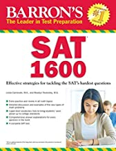 Barron's SAT 1600 : Revised for the New SAT [With CDROM] (Paperback)--by Linda Carnevale [2015 Edition]
