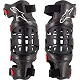 Alpinestars 6500719-13-X/2X Unisex-Adult Bionic 10 Carbon Knee Brace Pair Xl/2X (Multi, one_size)