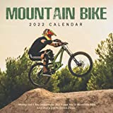 Mountain bike 2022 Calendar: Beautiful Calendar with Large Grid for Note - To do list, Gorgeous 8.5x8.5'' Small Calendar, Non-Glossy Paper