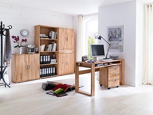 Arbeitszimmer Büroeinrichtung Büro Massivholz Büromöbel (5-teilig)