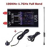N/A 100KHz-1.7GHz Full Band UV HF RTL-SDR USB Tuner Receiver/ R820T+8232 Ham Radio