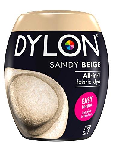 Dylon Maschine Dye Pod, Sandy Beige, 8.5 x 8.5 x 9.9 cm