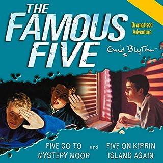 Five Go to Mystery Moor & Five On Kirrin Island Again cover art