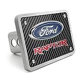 iPick Image for - Ford Raptor in Red 3D Logo Carbon Fiber Look 3/8