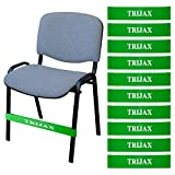 Fidget Chair Bands for Kids | Flexible Seating for Children with Fidgety Feet | Bouncy Seating Rubber Bands for Classrooms | Helps with Sensory Needs, ADD, SPD, ADHD, Autism, (10 Pack)