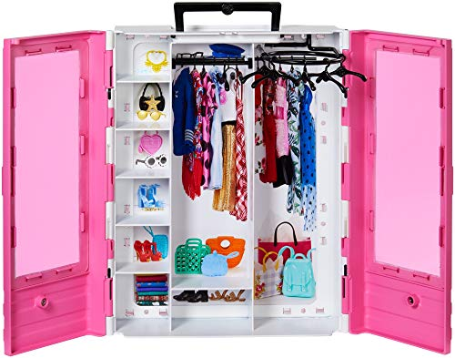 ​Barbie Fashionistas Ultimate Closet Portable Fashion Toy for 3 to 8 Year Olds