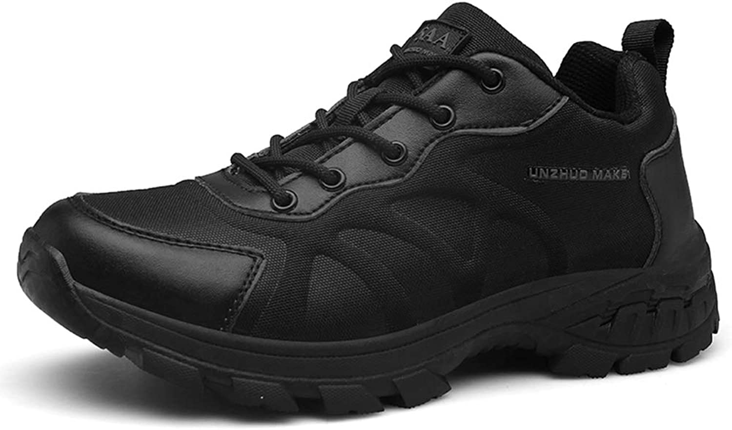 Suetar Men's Breathable Nylon Upper and Non-Slip Rubber Sole Military Tactical Sports shoes K12