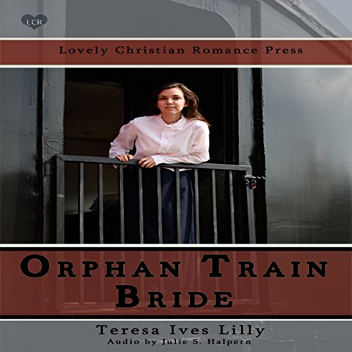 Orphan Train Bride audiobook cover art