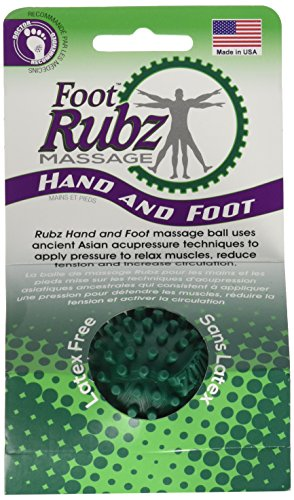 Due North Foot Rubz Foot Hand and Back Massage Ball Green by Due North