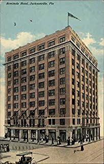 Seminole Hotel Jacksonville, Florida Original Vintage Postcard