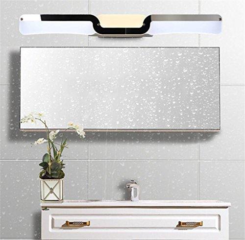 Spiegelfrontlicht Badspiegel helles Badezimmer Spiegelleuchte LED Wandleuchte moderne minimalistische Make-up Wassernebel führte Spiegel Wandschrank Wand Niemals rosten (größe : 60cm)