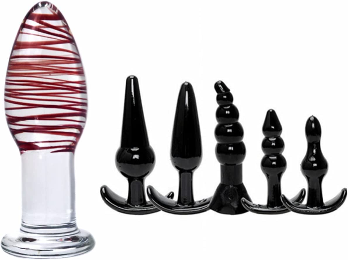 Anal Daily bargain sale Plug Glass Sex Toys Discount mail order for Kit Trainer Men
