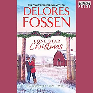 Lone Star Christmas     Cowboy Christmas Eve (Coldwater, Texas, Book 1)              Written by:                                                                                                                                 Delores Fossen                               Narrated by:                                                                                                                                 Will Damron                      Length: 9 hrs and 21 mins     1 rating     Overall 5.0