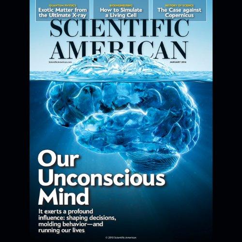 Scientific American, January 2014 audiobook cover art