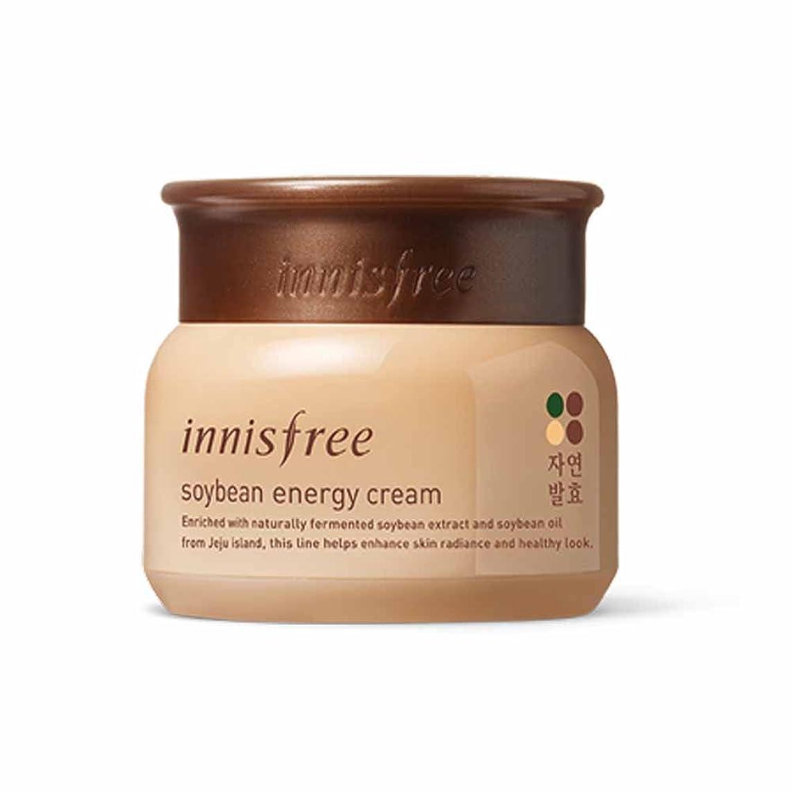 雇用者厚い恋人イニスフリーソーイングエナジークリーム50ml / Innisfree Soybean Energy Cream 50ml[海外直送品][並行輸入品]
