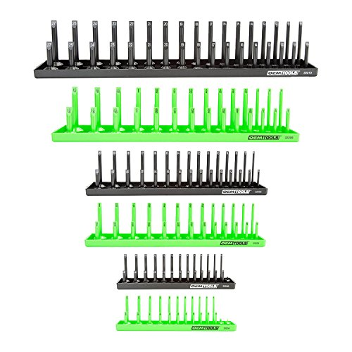 Our #2 Pick is the OEMTOOLS 22233 6 Piece Socket Organizer