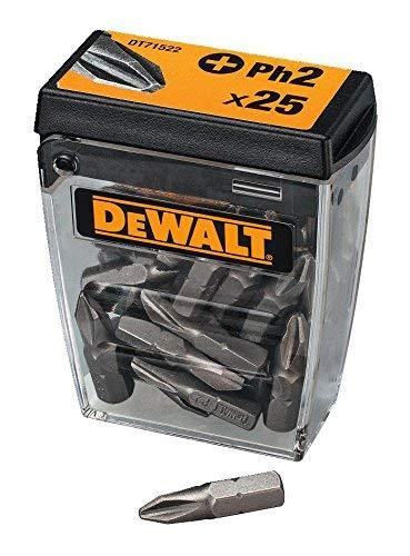 DeWalt DT71522-QZ 25mm Ph2 Bits (Box of 25)