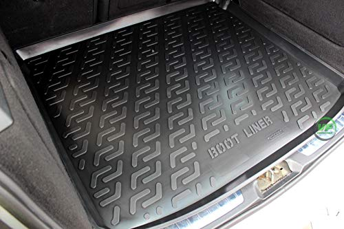 J&J AUTOMOTIVE Premium Antirutsch Gummi-Kofferraumwanne für Mercedes B-Klasse W245 2005-2010