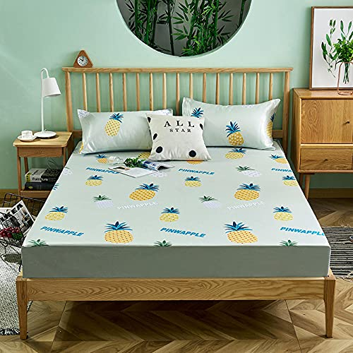 DSman Protector de colchón, con Aloe Vera, (Todas Las Medidas) Tapete de Tres Piezas -15_180cmx200cm