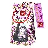Smart Egg Happy Party - Glückliches Fest: 3D-Labyrinth-Puzzle, Brainteaser und Geschenk für alle Gelegenheiten (Rosa) -