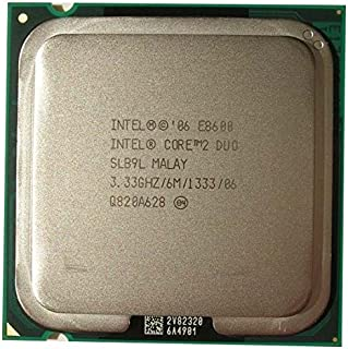 Intel Core 2 Duo E8600 SLB9L 3.33GHz 6MB CPU Processor LGA775
