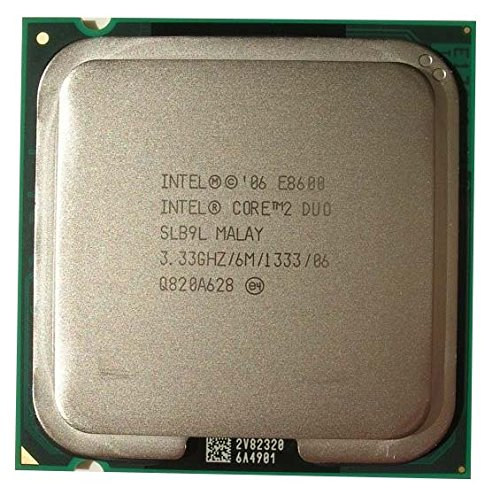 『Intel Core 2 Duo E8600 SLB9L 3.33GHz 6MB CPUプロセッサー LGA775』のトップ画像