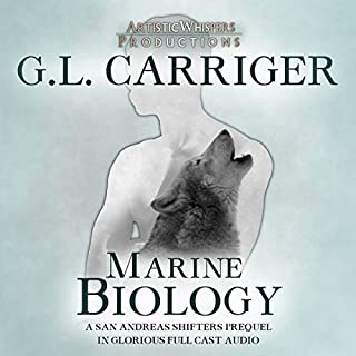 Marine Biology     A San Andreas Shifters Short Story Prequel              By:                                                                                                                                 Gail Carriger                               Narrated by:                                                                                                                                 J. Daniel Sawyer                      Length: 1 hr and 5 mins     40 ratings     Overall 4.2