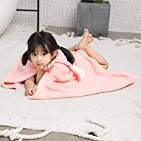 Kids Beach Towel 100% Cotton Cloak Bathrobe Baby Boys Girls Animal Hooded Bath Towel 70*140cm Children Cartoon Rabbit Blanket