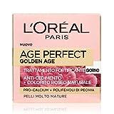 L'Oréal Paris Crema Viso Anti-Rughe Age Perfect Golden Age, Trattamento Fortificante Giorno, Adatto a Pelli Mature, 50 ml, Confezione da 1