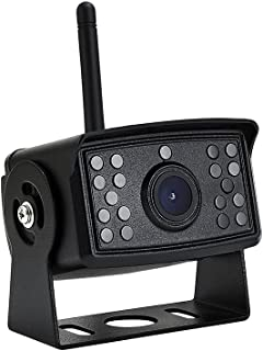 $89 » Wireless RV Backup Camera, 170° Wide View Angle DOUXURY IP69 Waterproof 1080P HD Digital Truck Backup Camera, Wireless Bac...