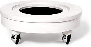 Pedicure Cart - White w/Chrome